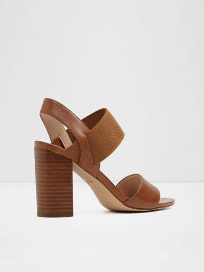 Aldo Maroon Sling-Back Pumps Sandals