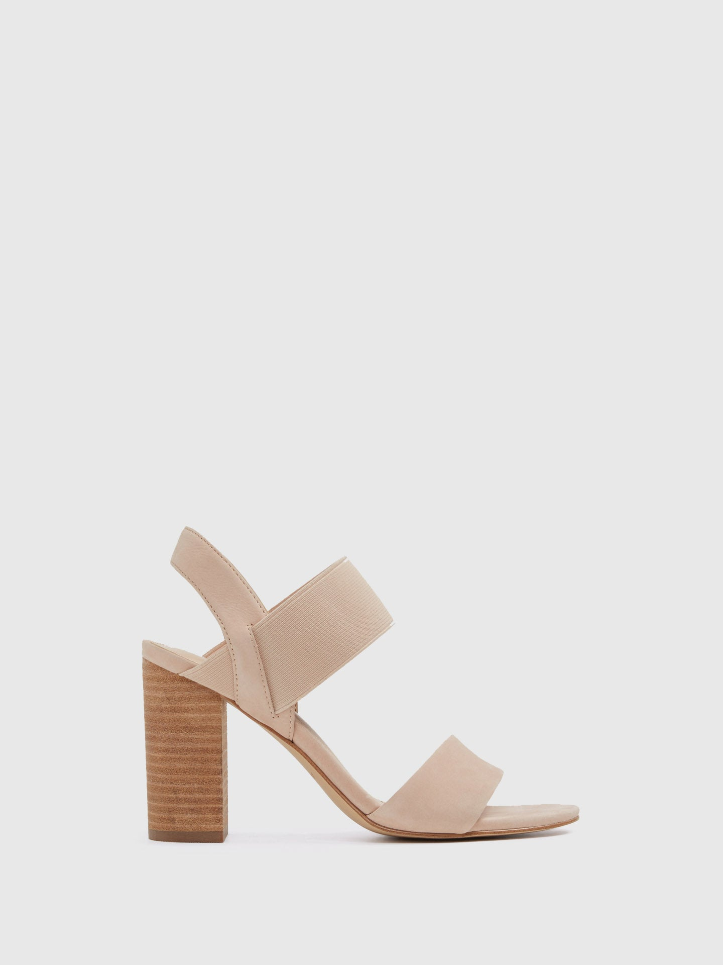 Aldo Beige Sling-Back Pumps Sandals