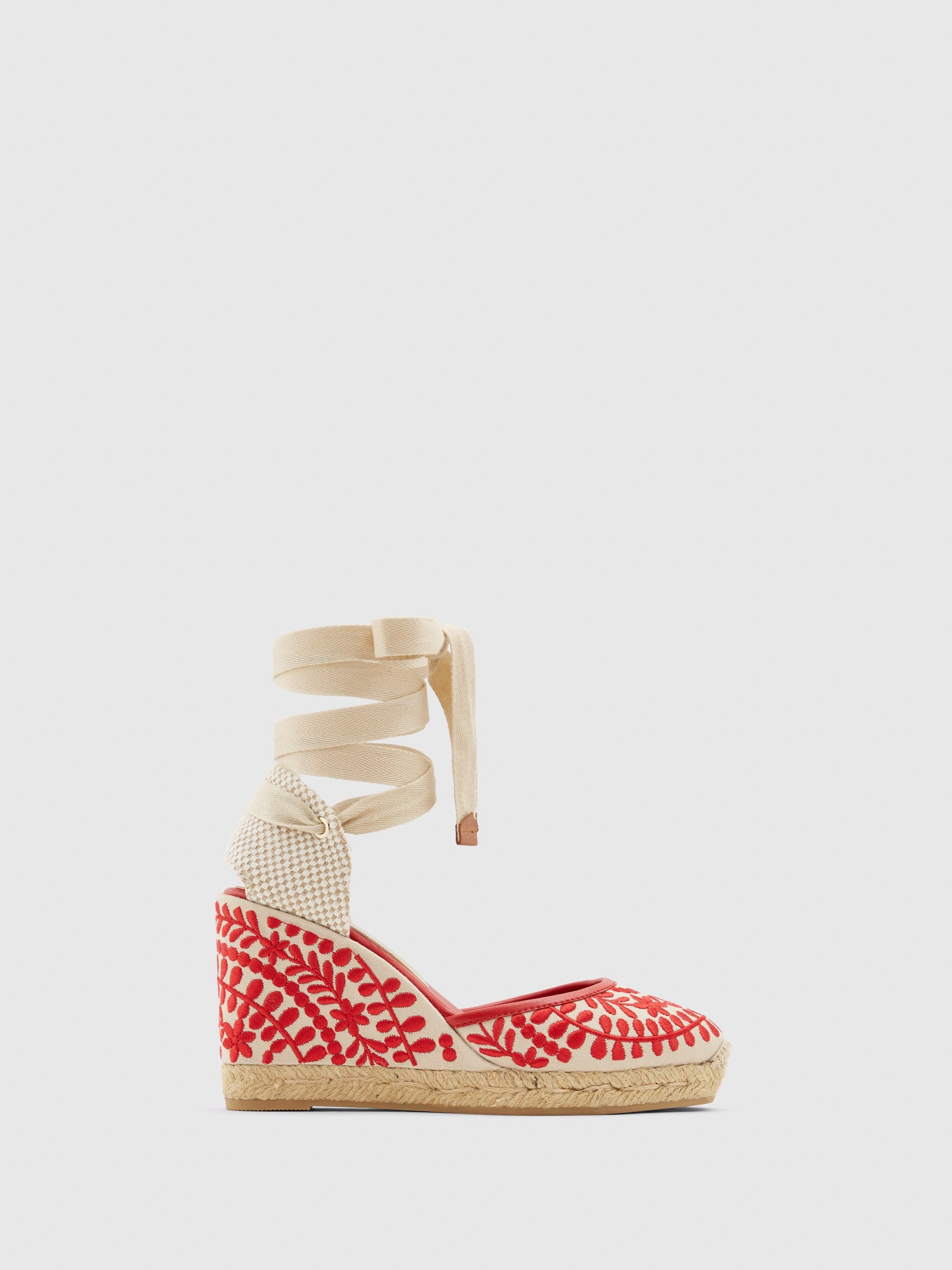 Aldo Red Wedge Espadrilles