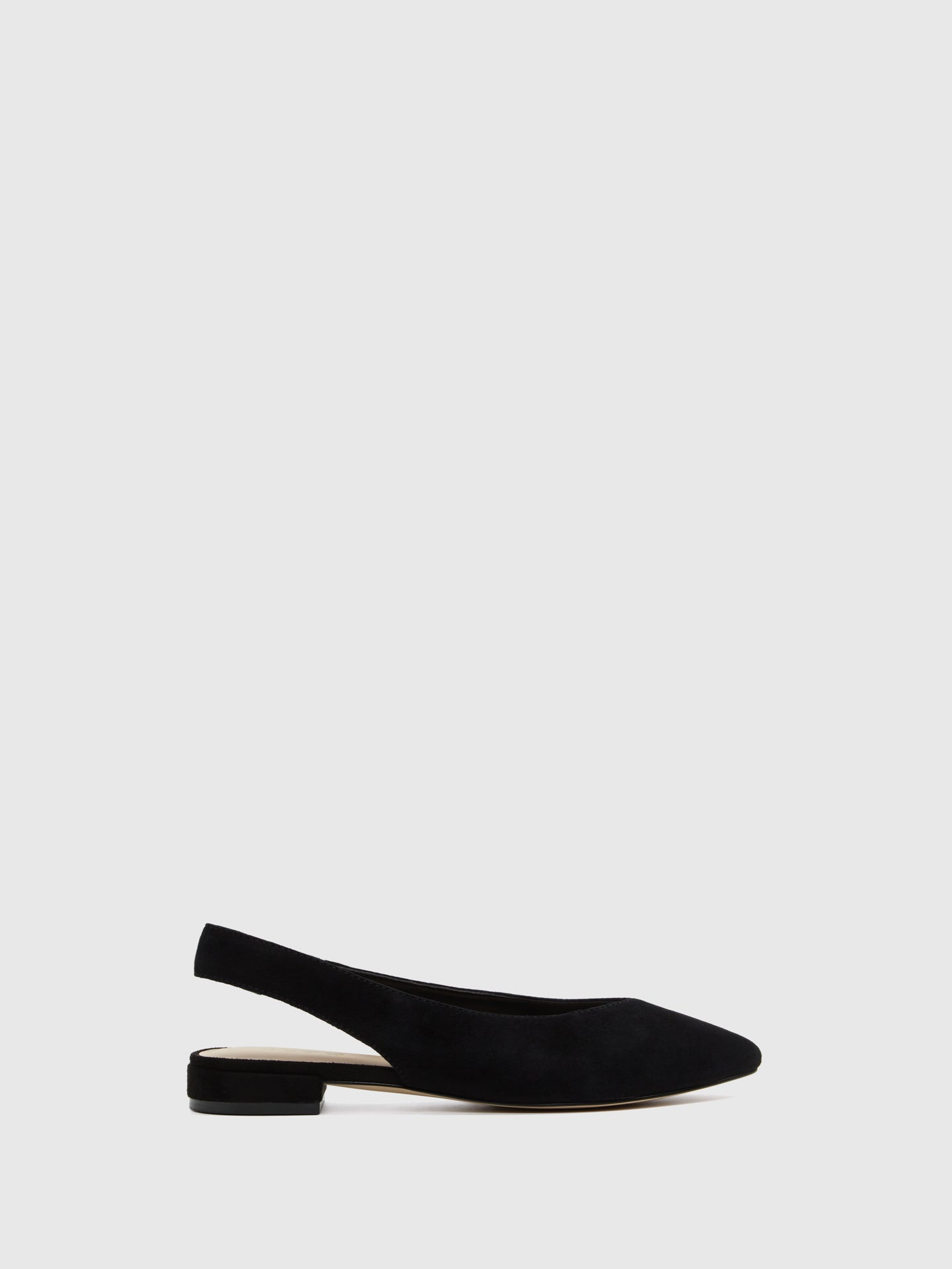 Aldo Black Sling-Back Ballerinas