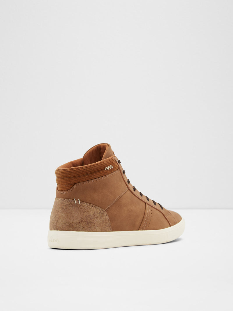 Aldo Brown Hi-Top Trainers