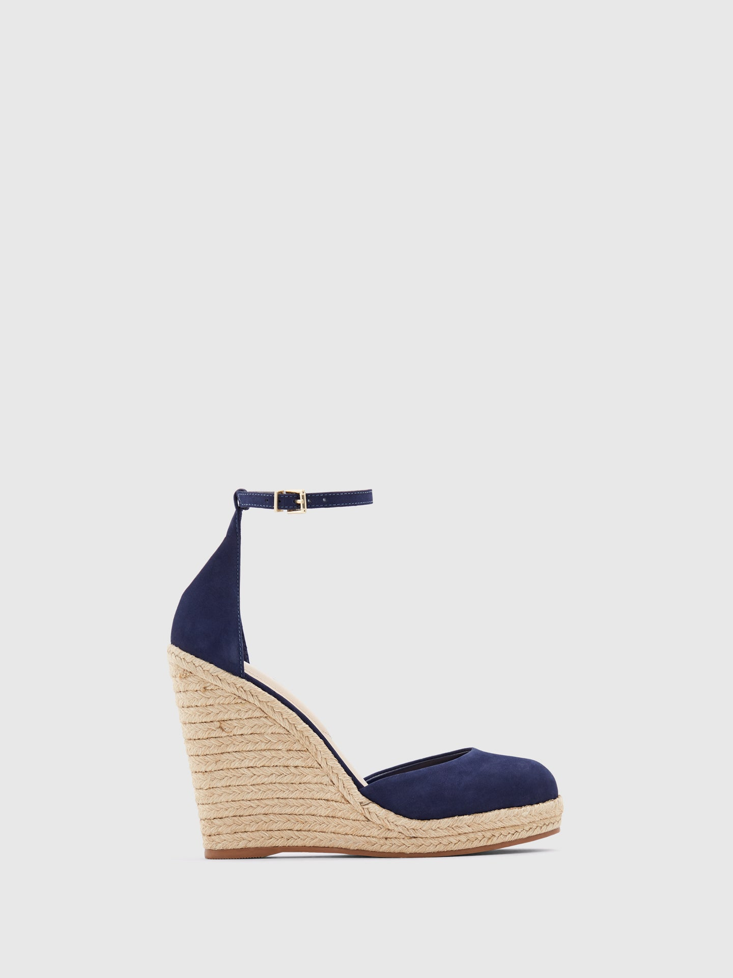 Aldo Blue Wedge Espadrilles