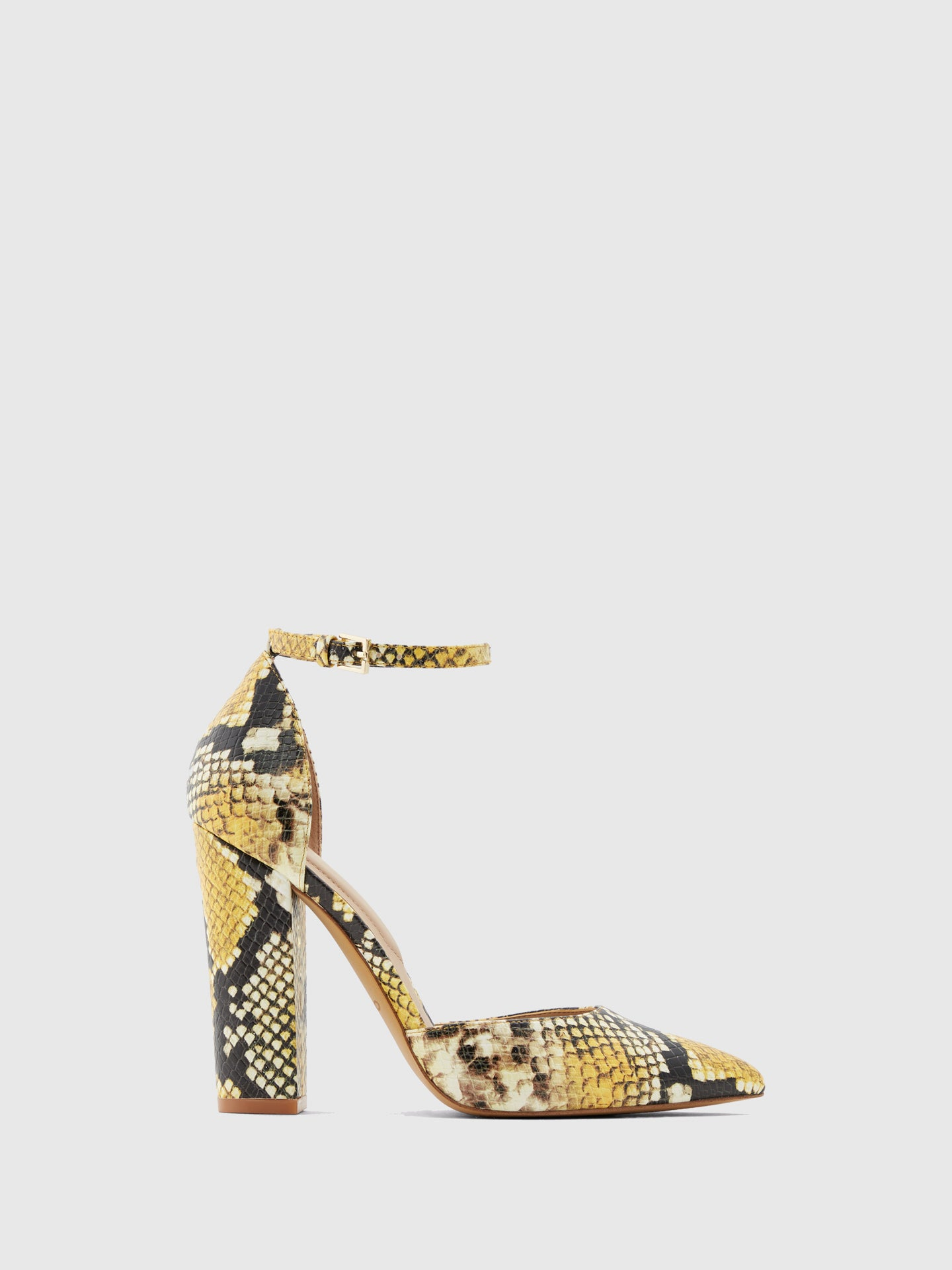 Aldo Yellow Pointed Toe Shoes