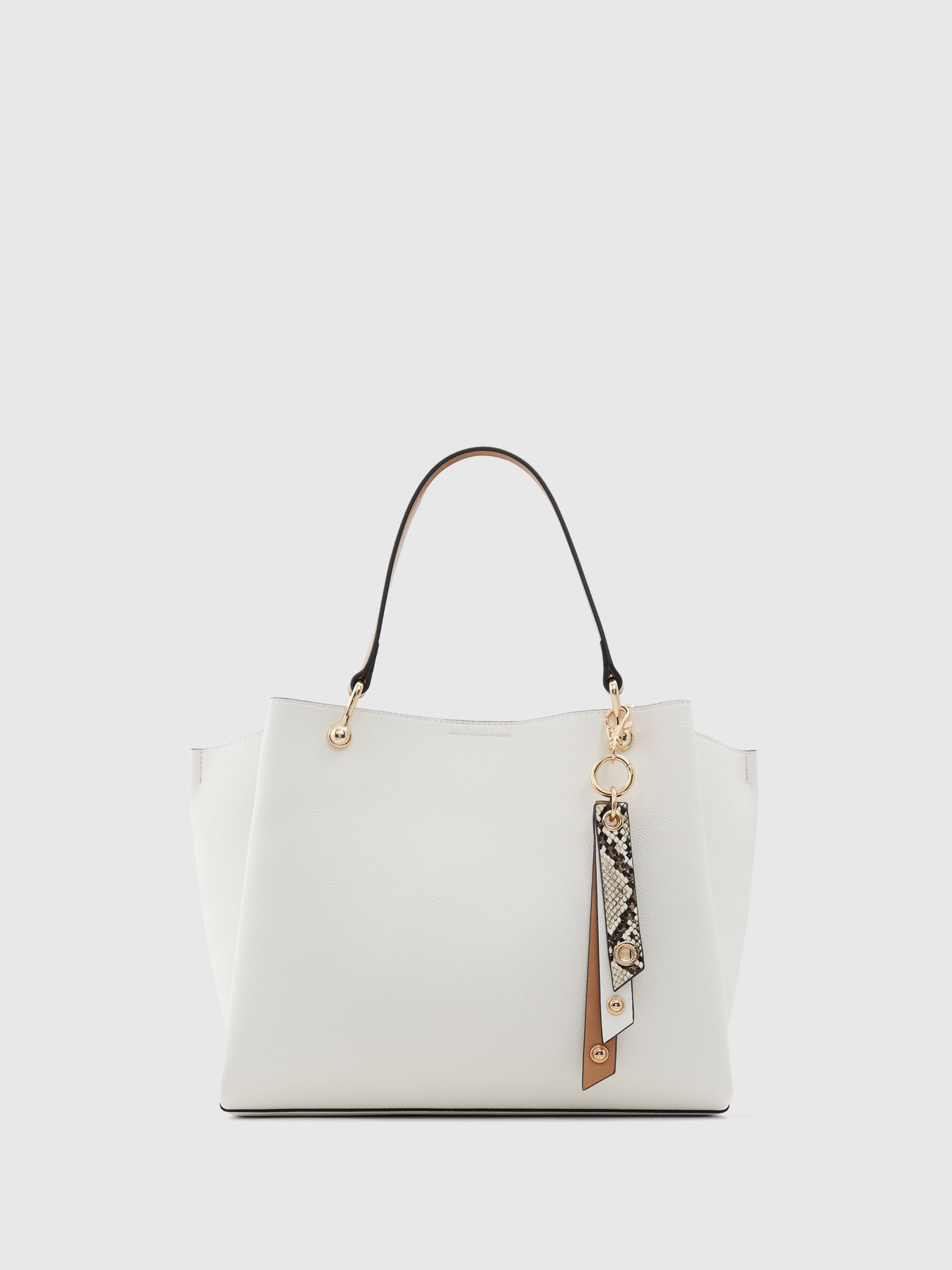 Aldo White Shoulder Bag