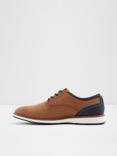 Aldo Maroon Derby Shoes
