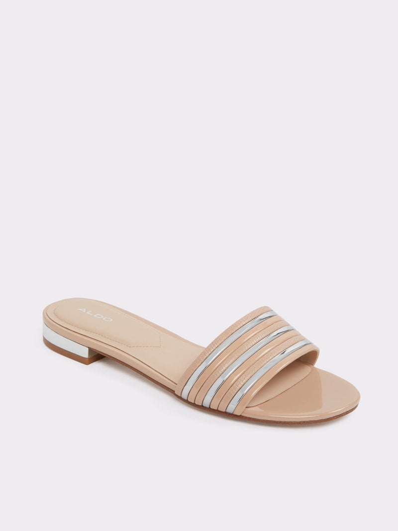 Aldo Beige Open Toe Sandals