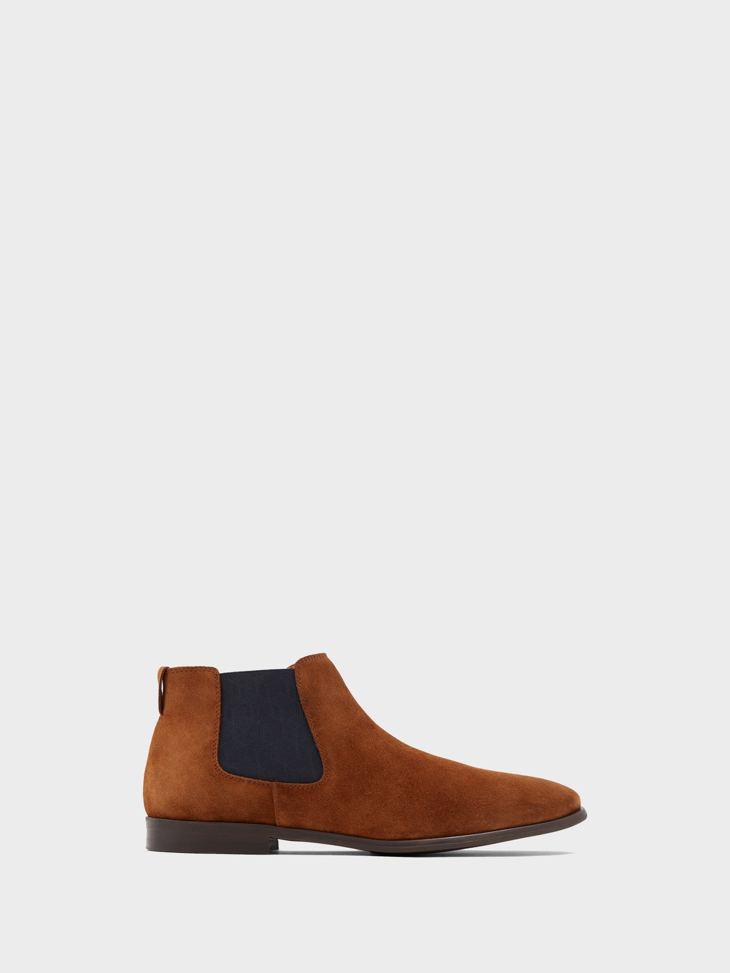 Aldo Brown Round Toe Ankle Boots