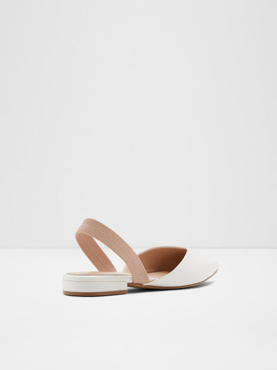 Aldo White Pointed Toe Shoes