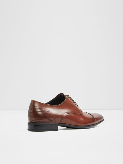 Aldo Maroon Lace-up Shoes