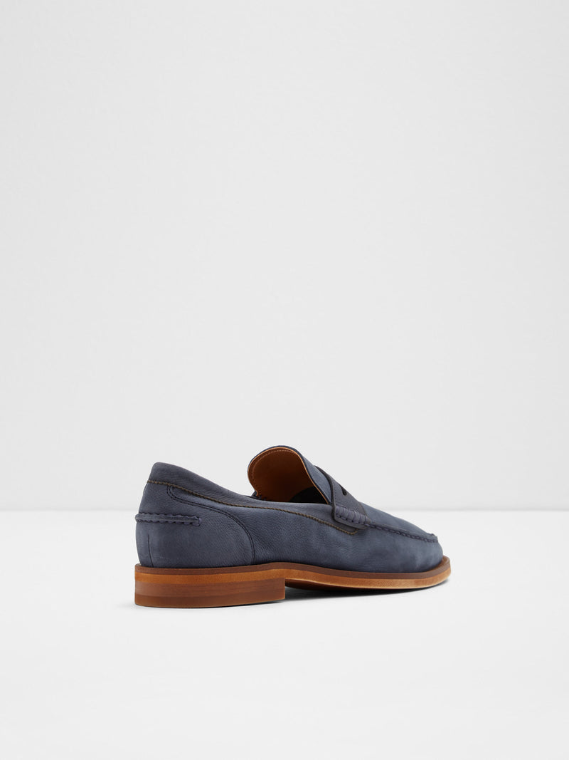 Navy Loafers Shoes