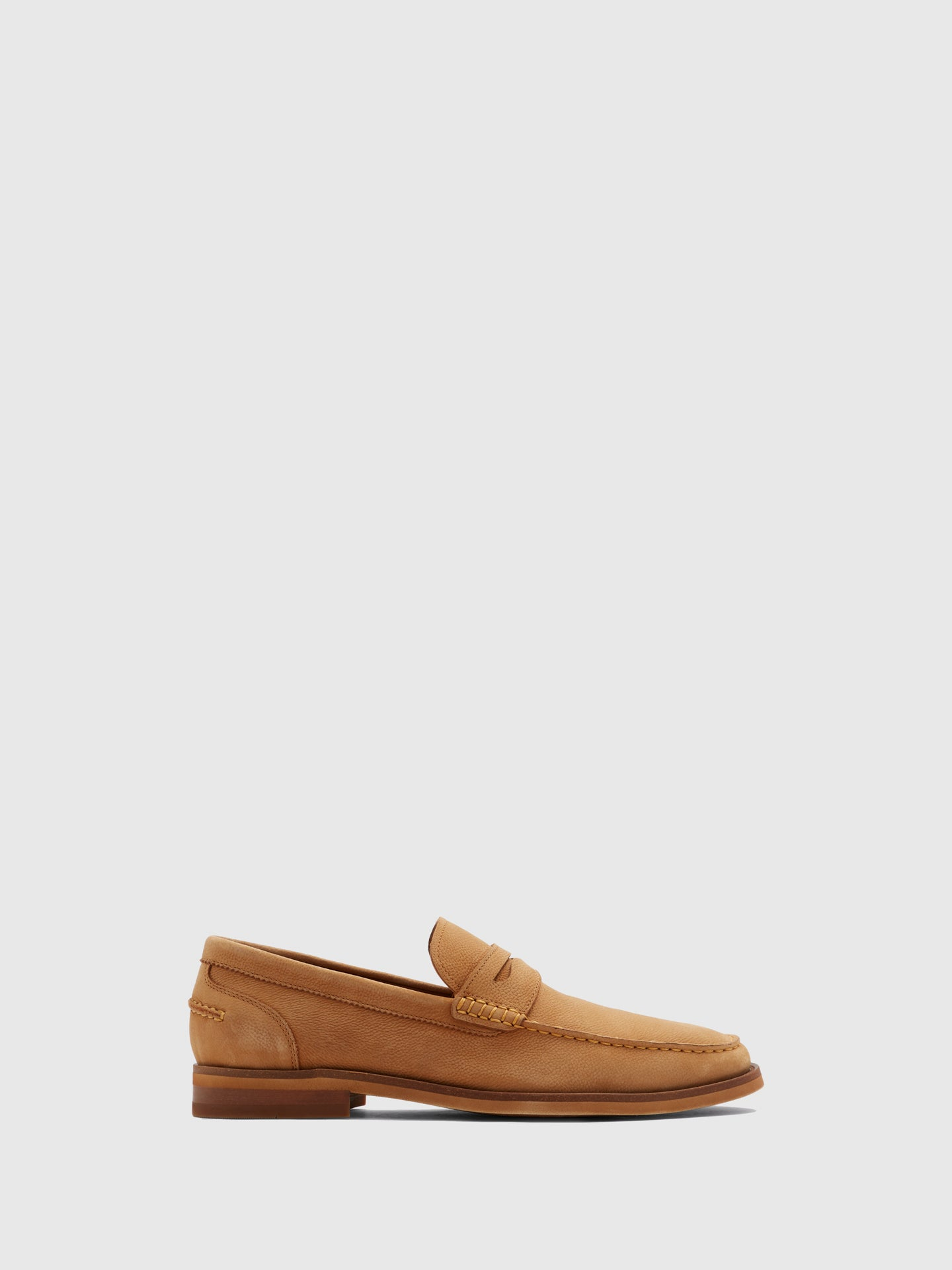 Aldo Beige Loafers Shoes