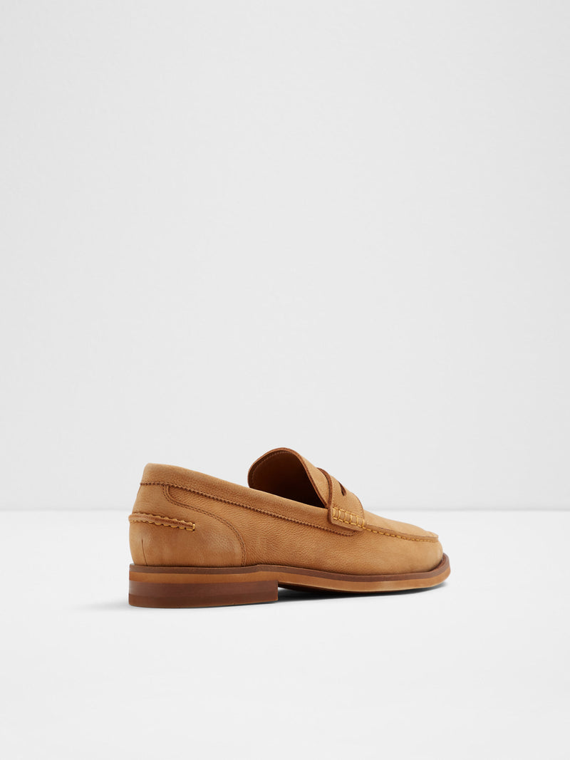 Beige Loafers Shoes