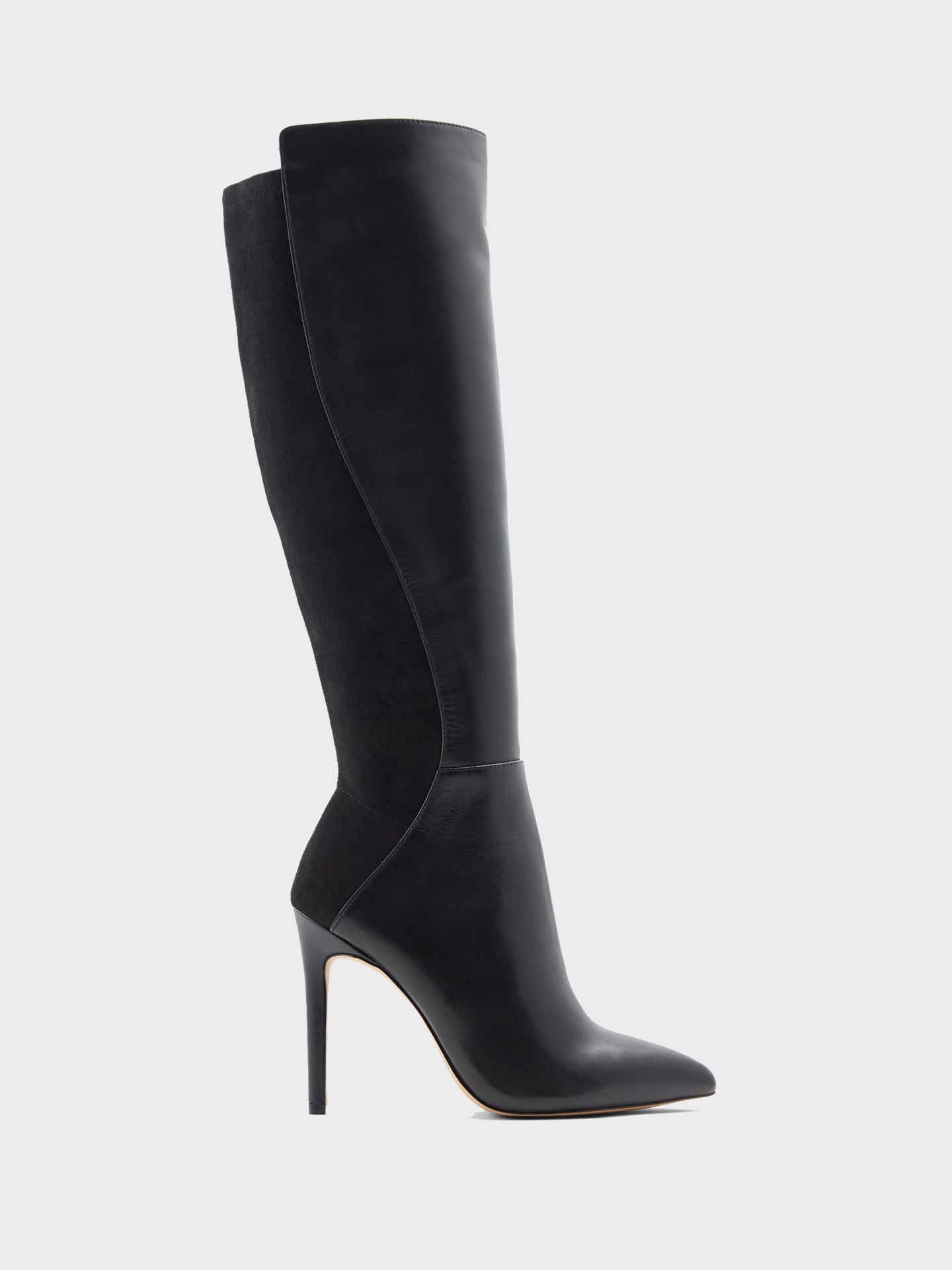 Aldo Black Pointed Toe Boots