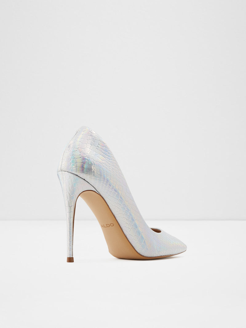 Aldo Gray Stiletto Shoes