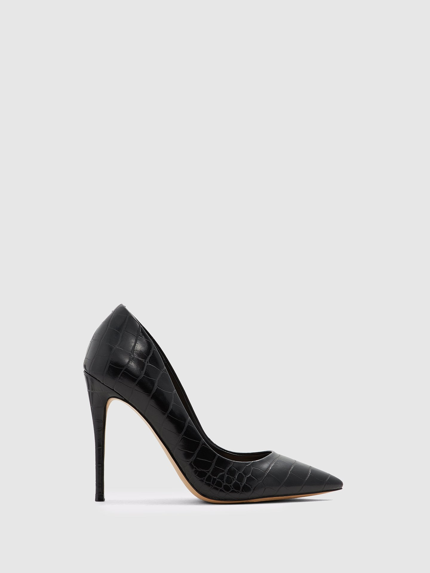 Aldo Brown Black Stiletto Shoes