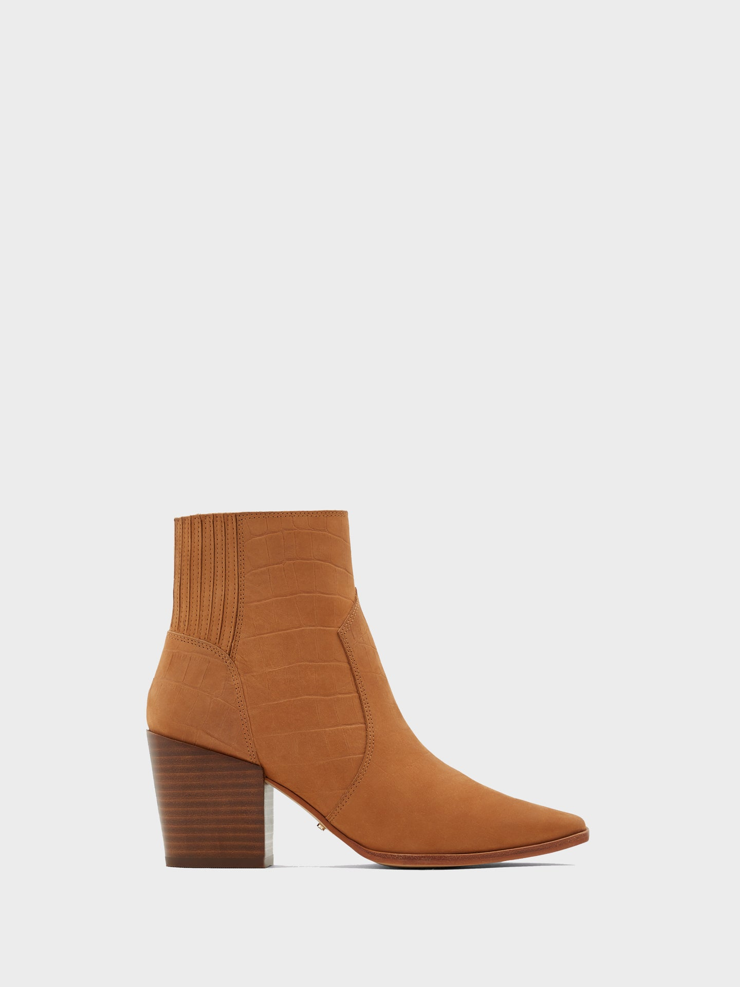 Aldo Brown Pointed Toe Ankle Boots