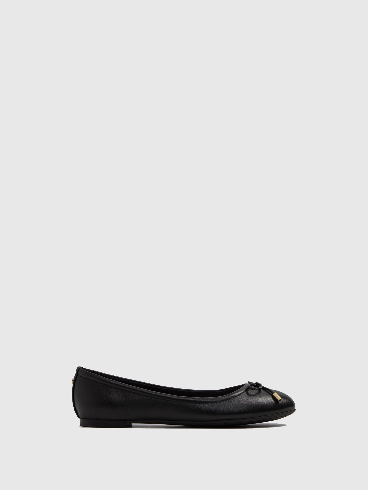 Aldo Black Bow Ballerinas