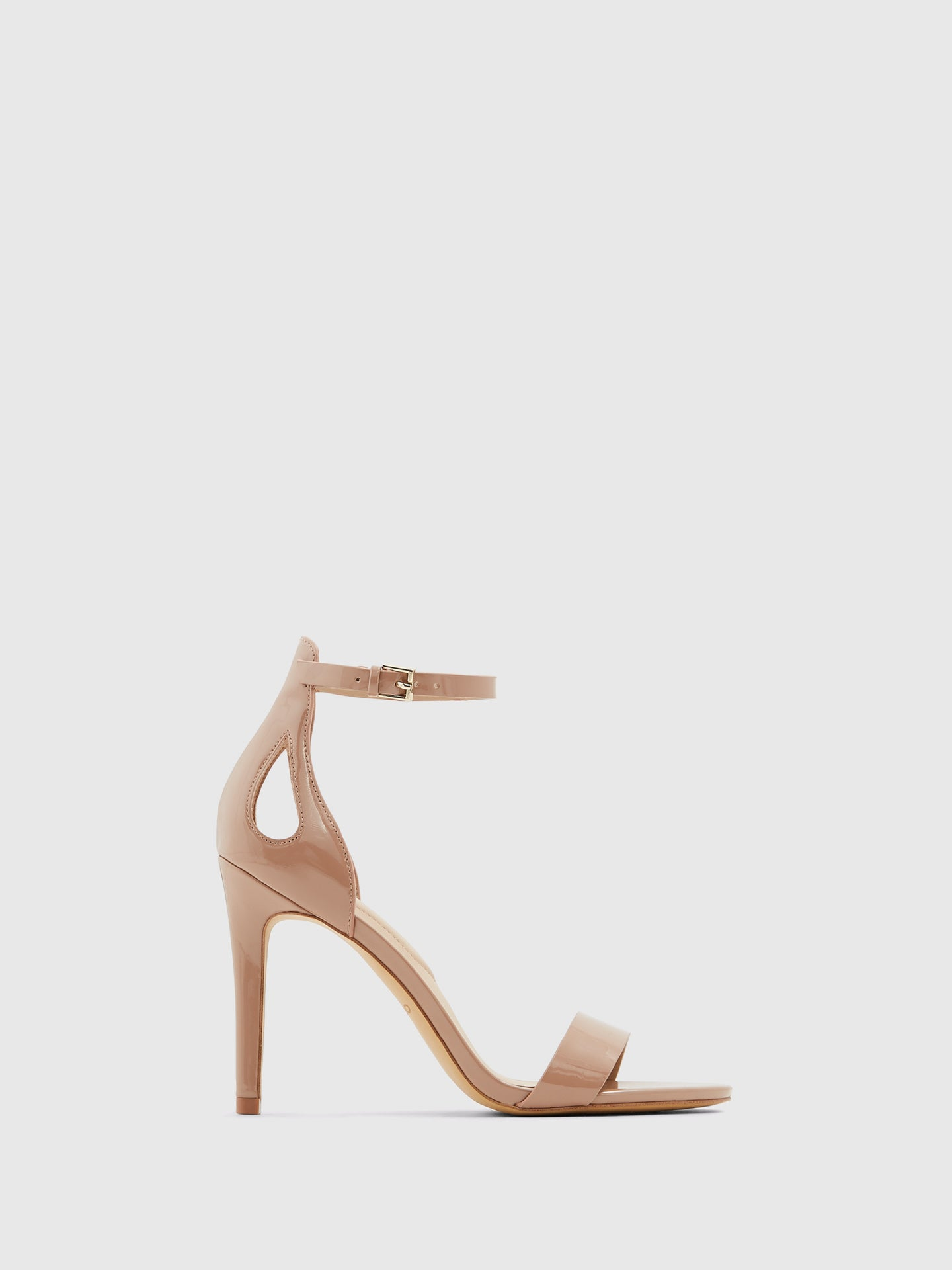 Aldo LightPink Ankle Strap Sandals