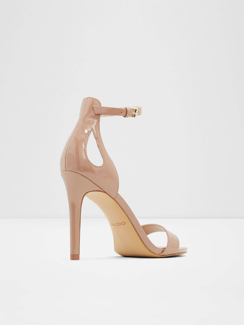 LightPink Ankle Strap Sandals