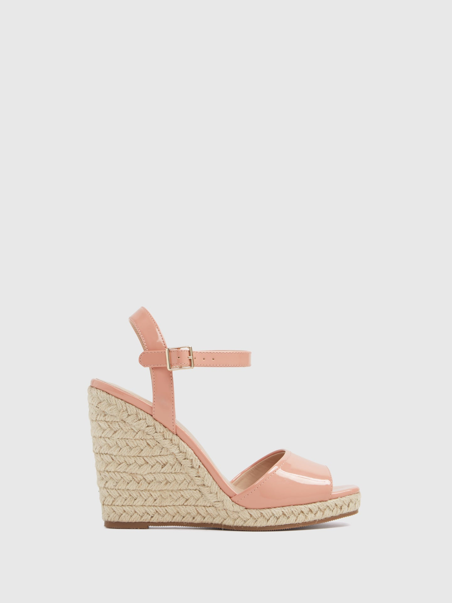 Aldo LightPink Wedge Sandals