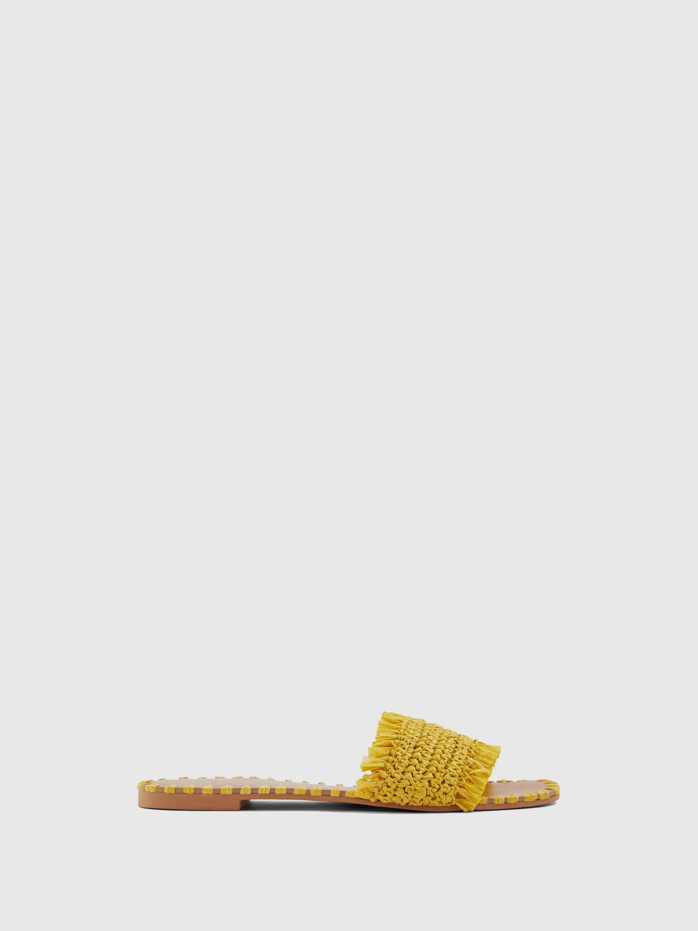 Aldo Yellow Open Toe Sandals