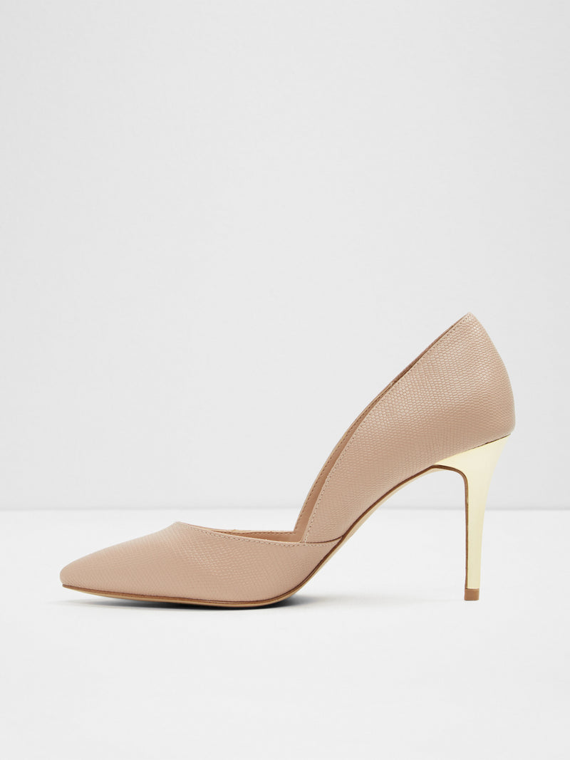 Aldo Beige Pointed Toe Shoes