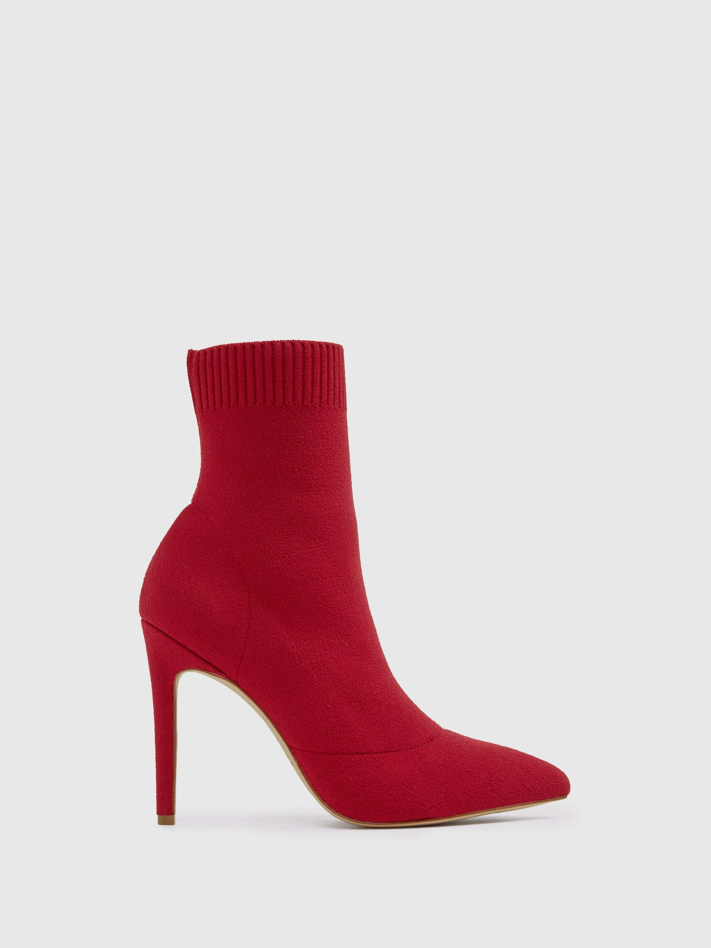 Aldo Red Sock Ankle Boots