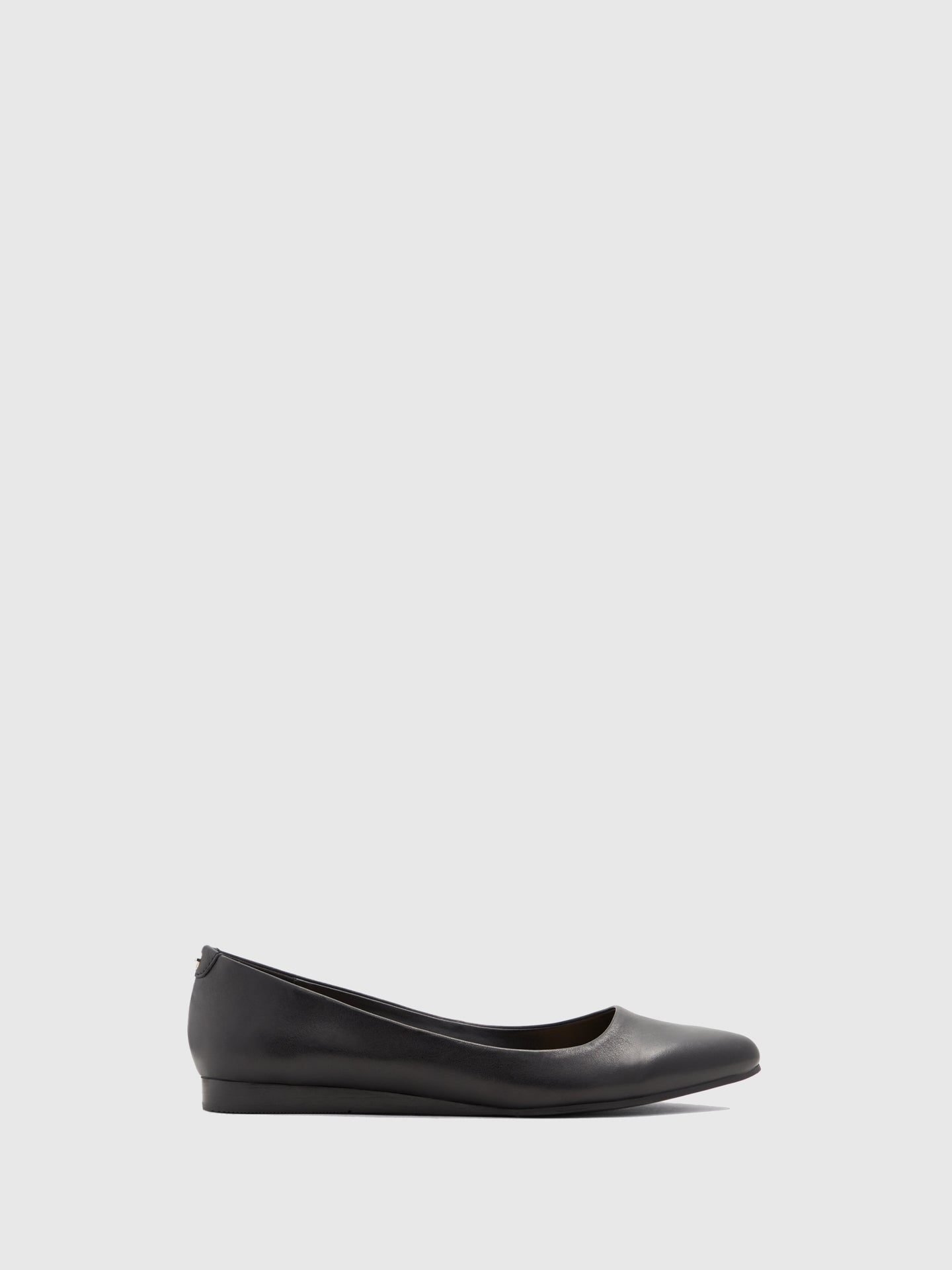 Aldo Black Pointed Toe Ballerinas