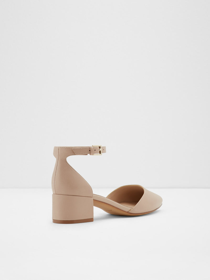 Wheat Ankle Strap Shoes