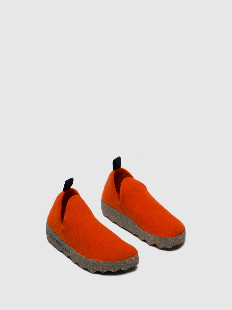 Slip-on Shoes CITY L Orange
