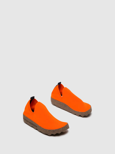 ASPORTUGUESAS Orange Elasticated Trainers