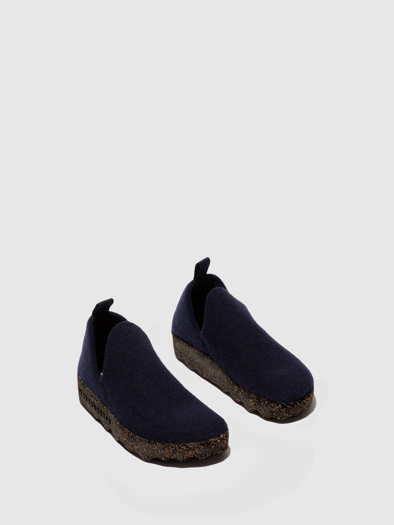Slip-on Shoes CITY M Navy