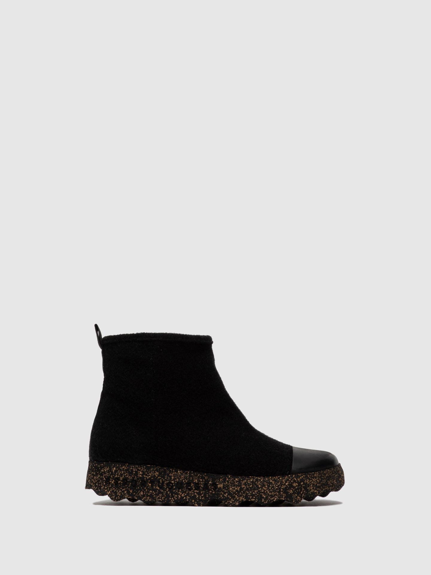 ASPORTUGUESAS Zip Up Boots COSY L Black
