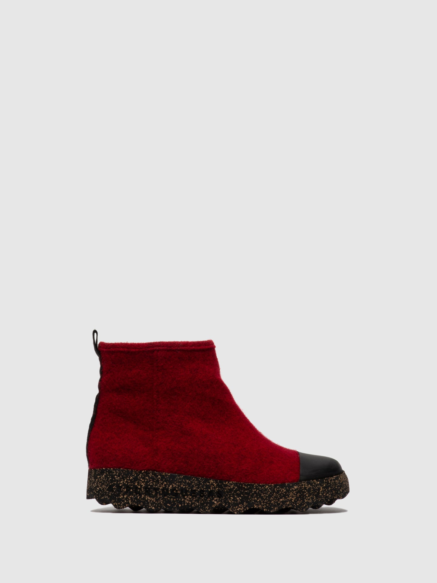ASPORTUGUESAS Zip Up Boots COSY L Berry