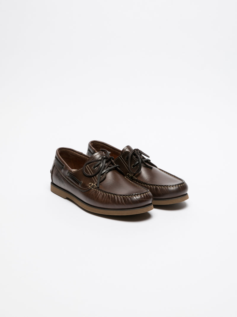 Camel Active Brown Nautical Shoes