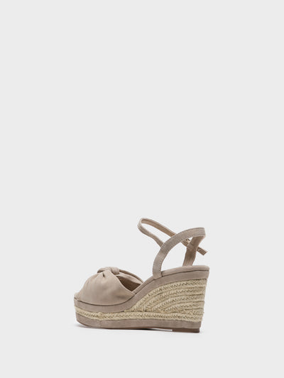 Carmela Tan Wedge Sandals