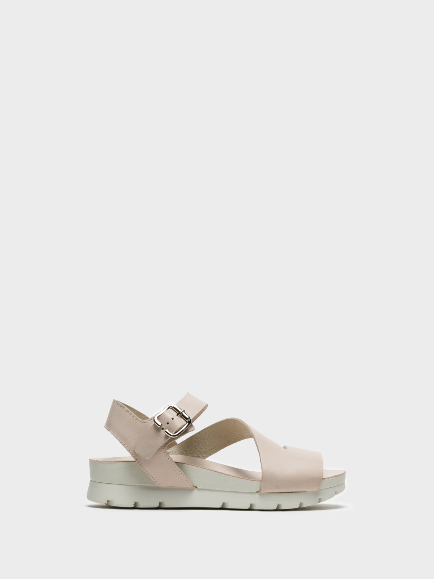 Camport Pink Buckle Sandals