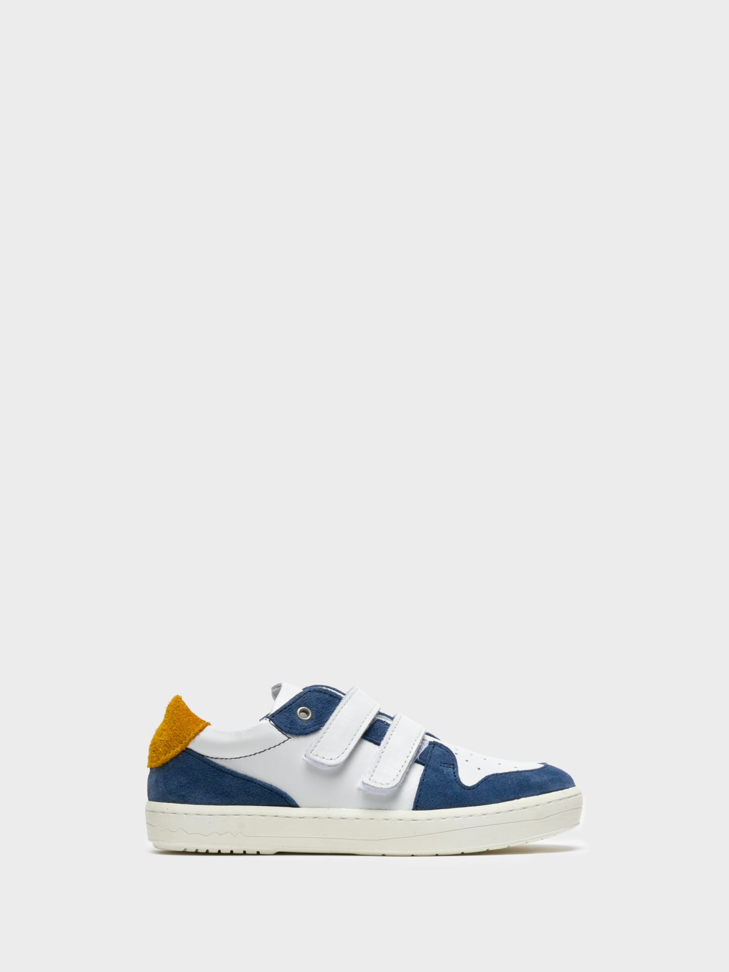 Camport Blue White Velcro Trainers