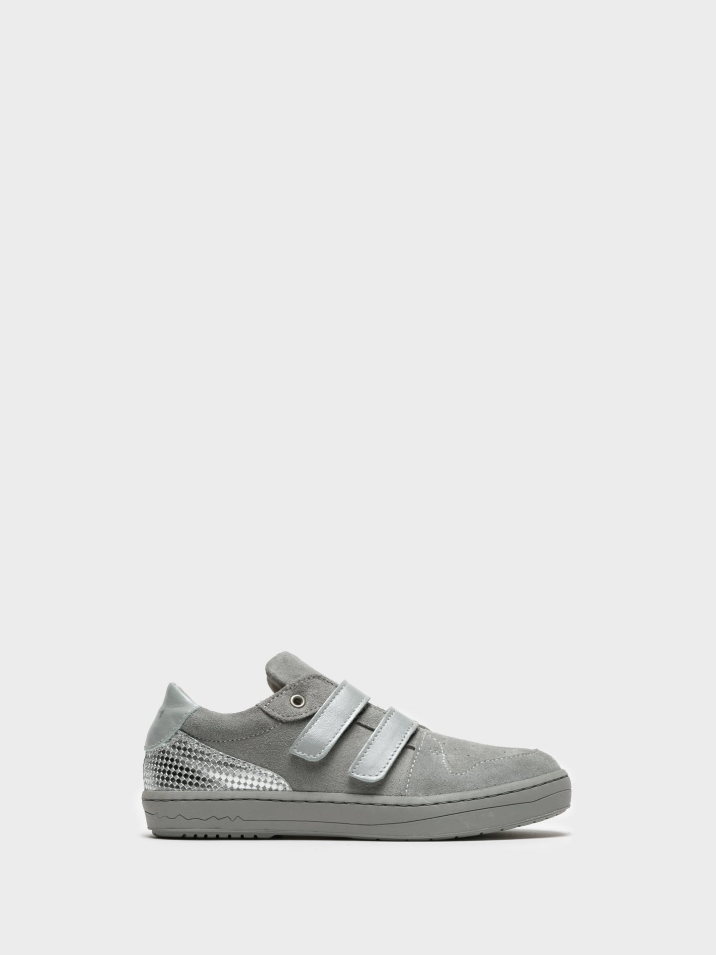 Camport Silver Velcro Trainers