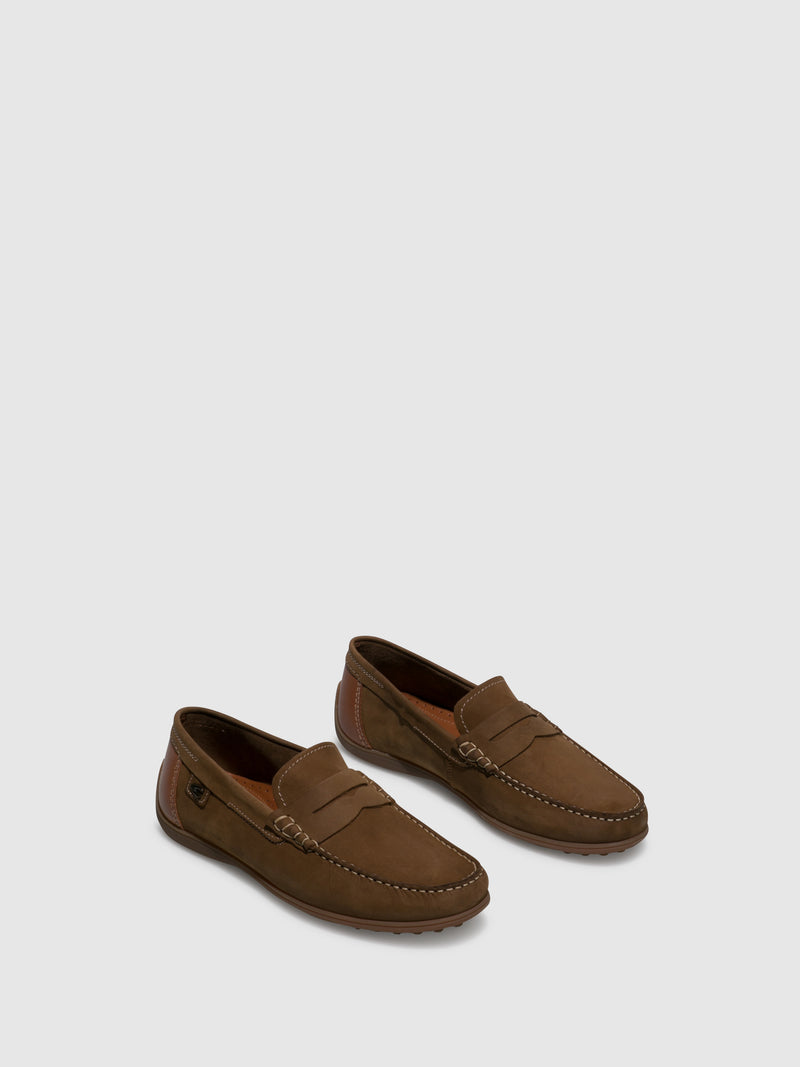 Camel Active Brown Mocassins Shoes