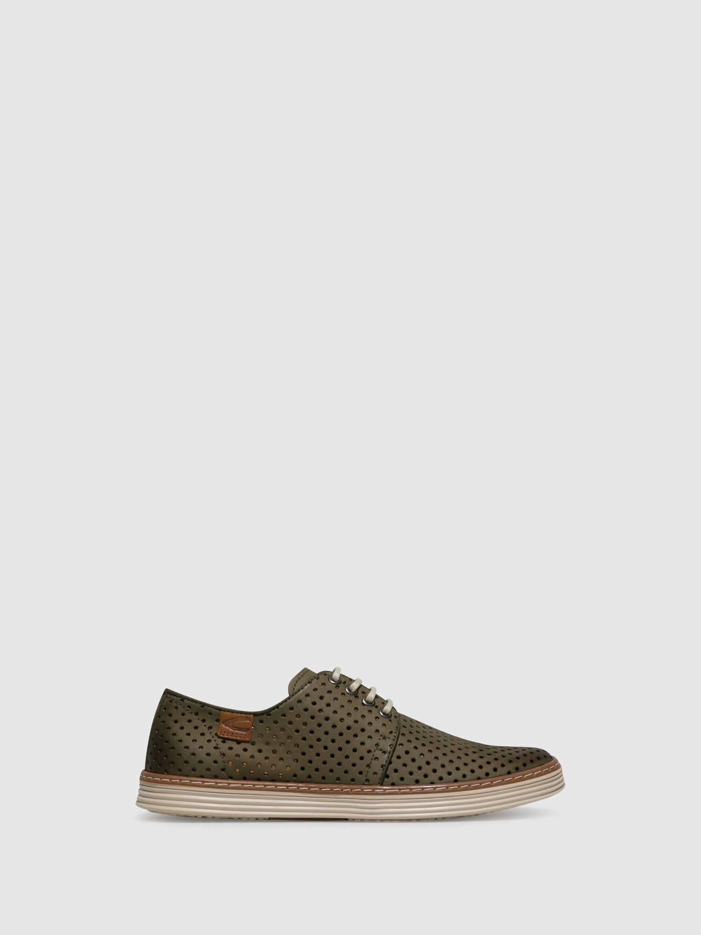 Camel Active Green Lace-up Shoes