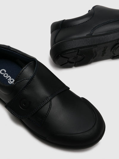 Conguitos Navy Round Toe Shoes