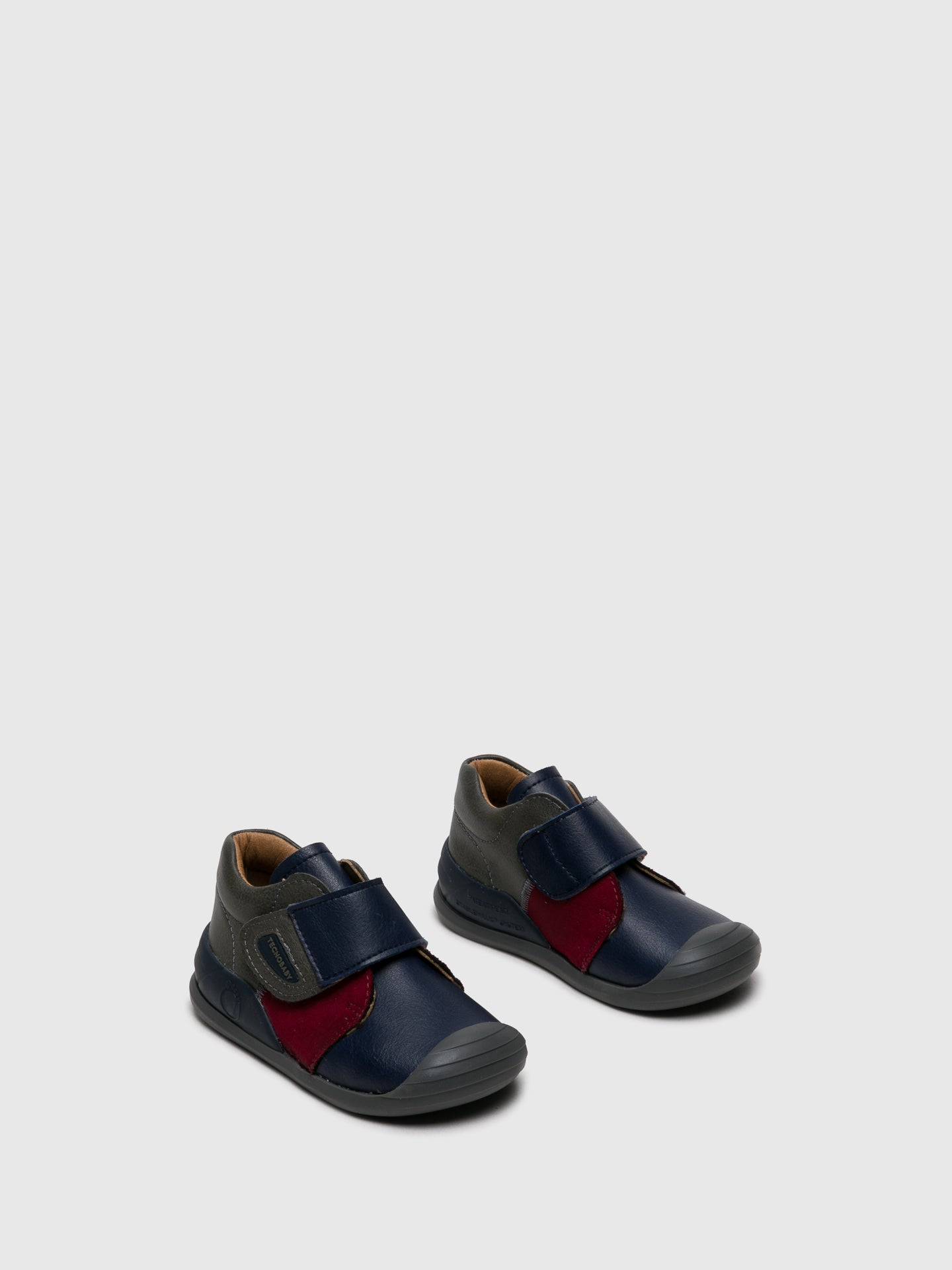 Conguitos Multicolor Velcro Ankle Boots