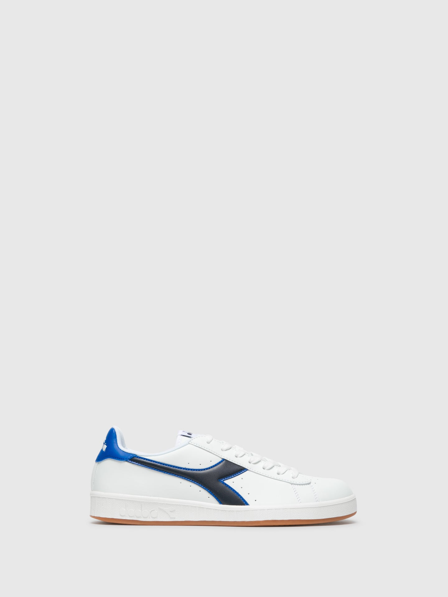 Diadora Blue Lace-up Trainers