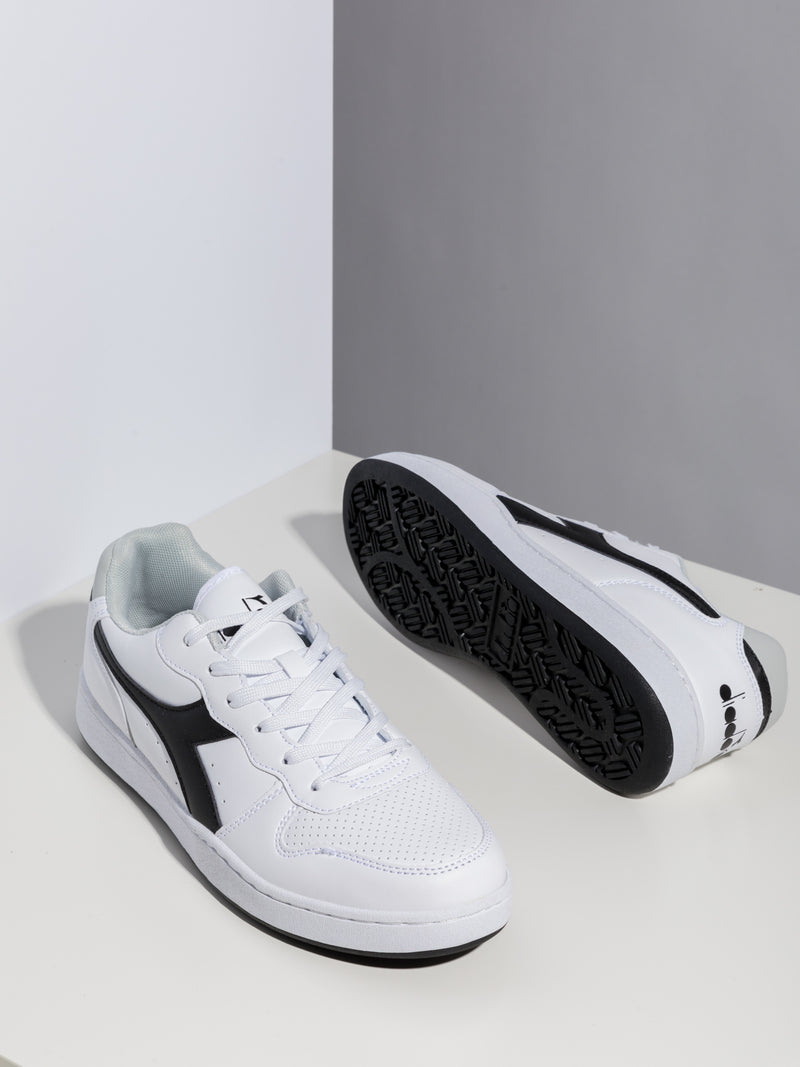 Diadora Black White Runners