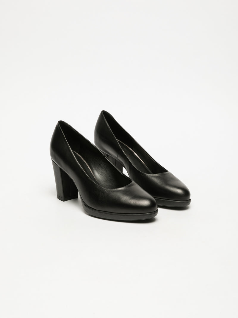Black Classic Pumps Shoes