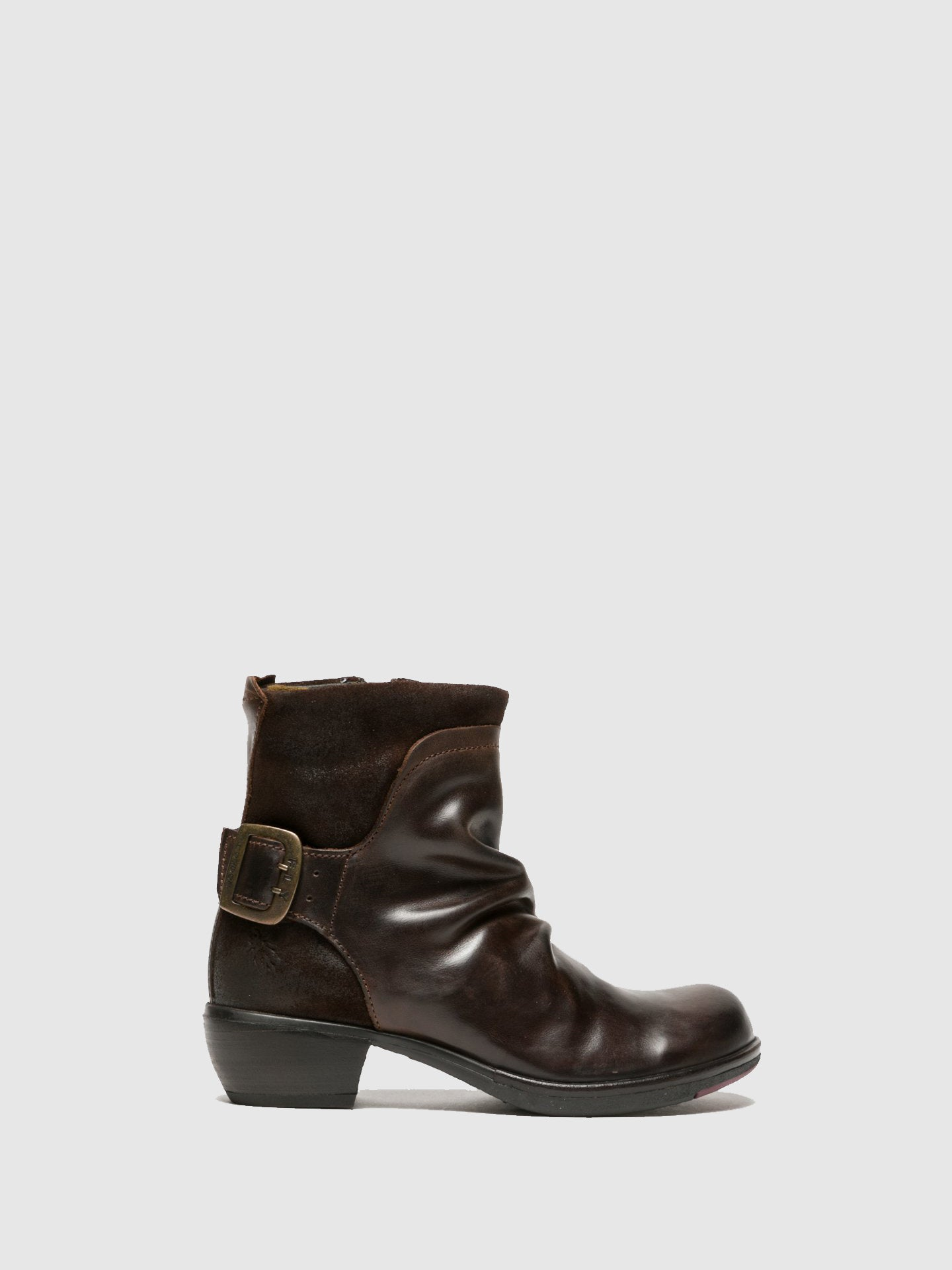Fly London Sienna Buckle Ankle Boots