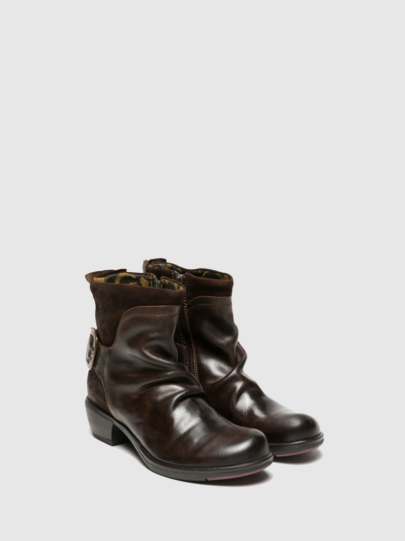 Sienna Buckle Ankle Boots