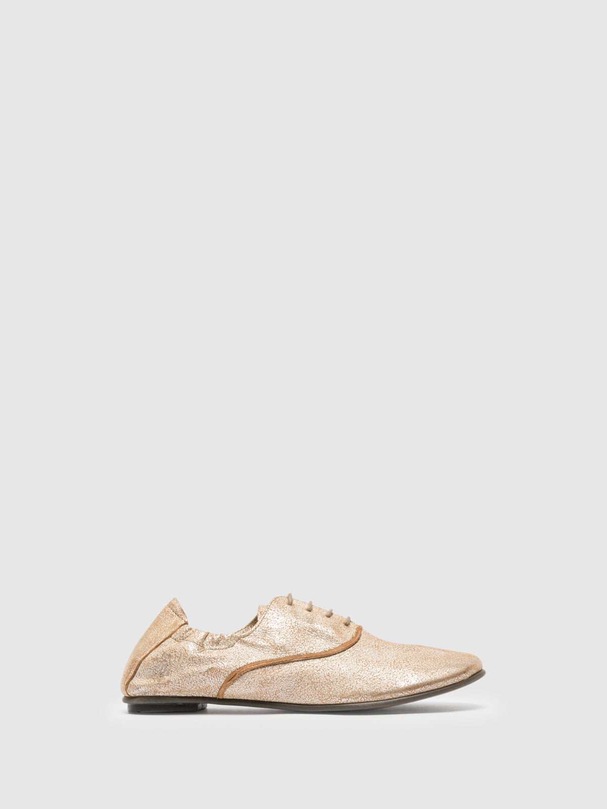 Fly London Beige Oxford Shoes