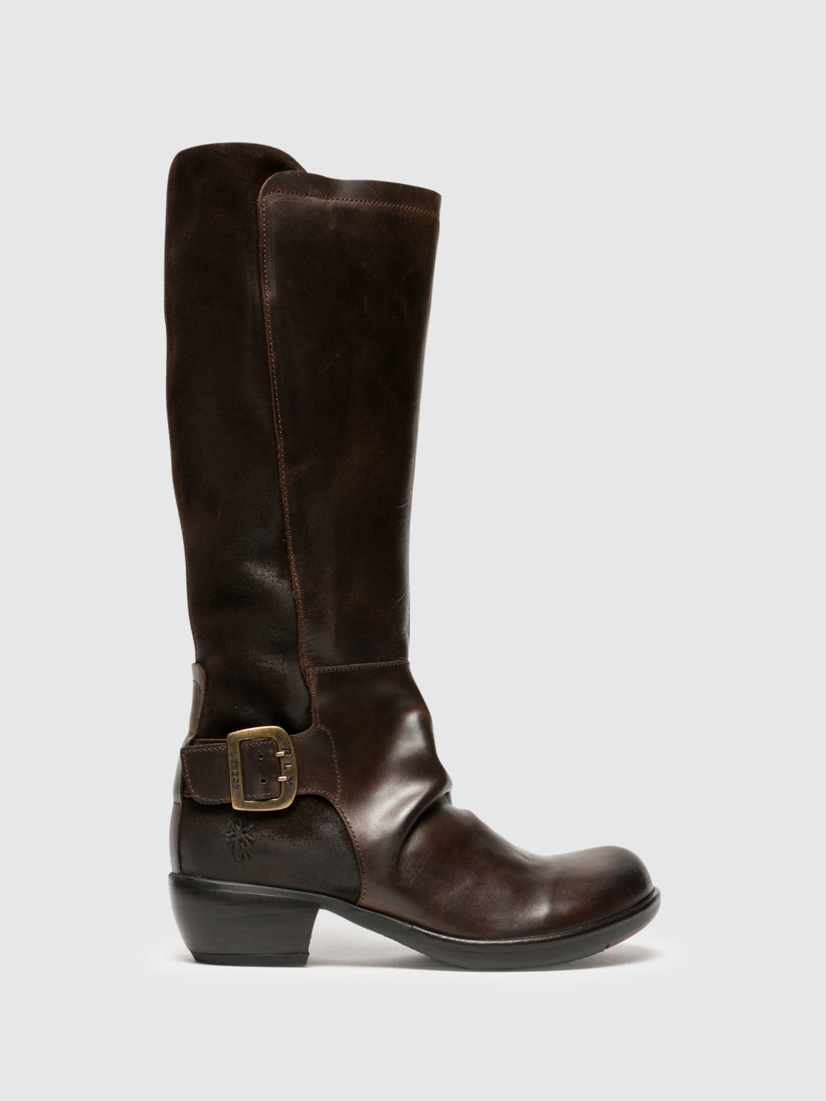 Fly London Brown Knee-High Boots